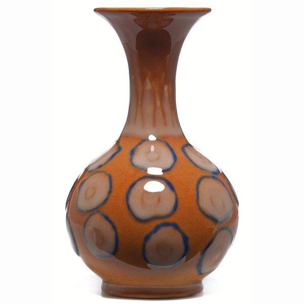 1502: Rookwood vase, Hi-glaze, Holtkamp