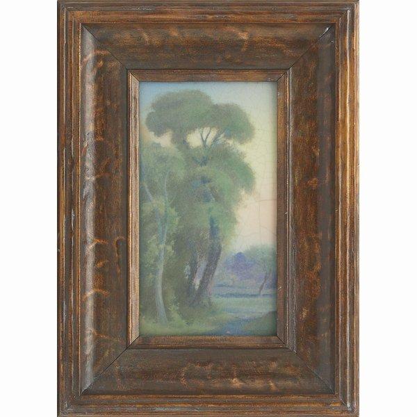 1510: Rookwood plaque, Vellum glaze, Fred Rothenbusch