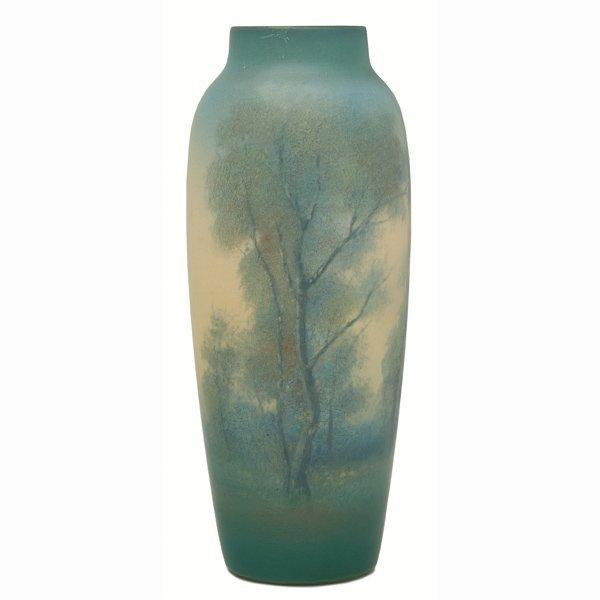 1512: Rookwood vase, Vellum glaze, Ed Diers