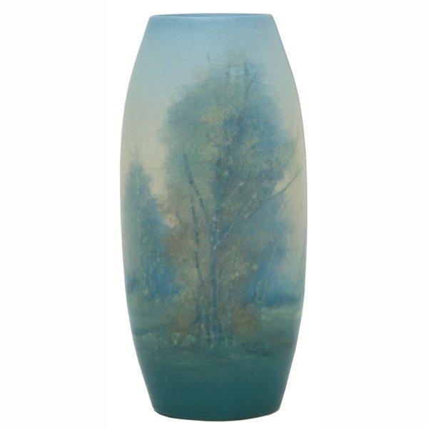 1514: Rookwood vase, Vellum glaze, Ed Diers