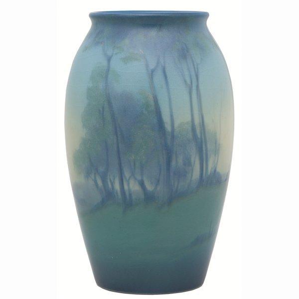 1515: Rookwood vase, Vellum glaze, Lorinda Epply