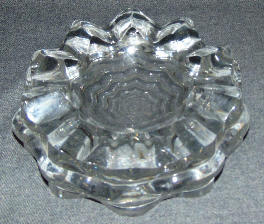 """Baccarat Crystal 8"""" Cigar Ashtray"""