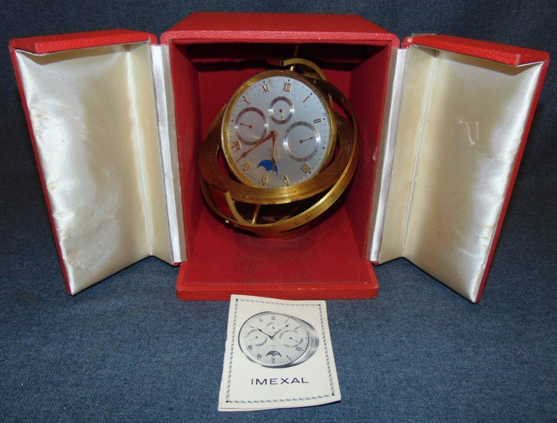 Rare Imexal Calendar Alarm & Moon Phase Clock