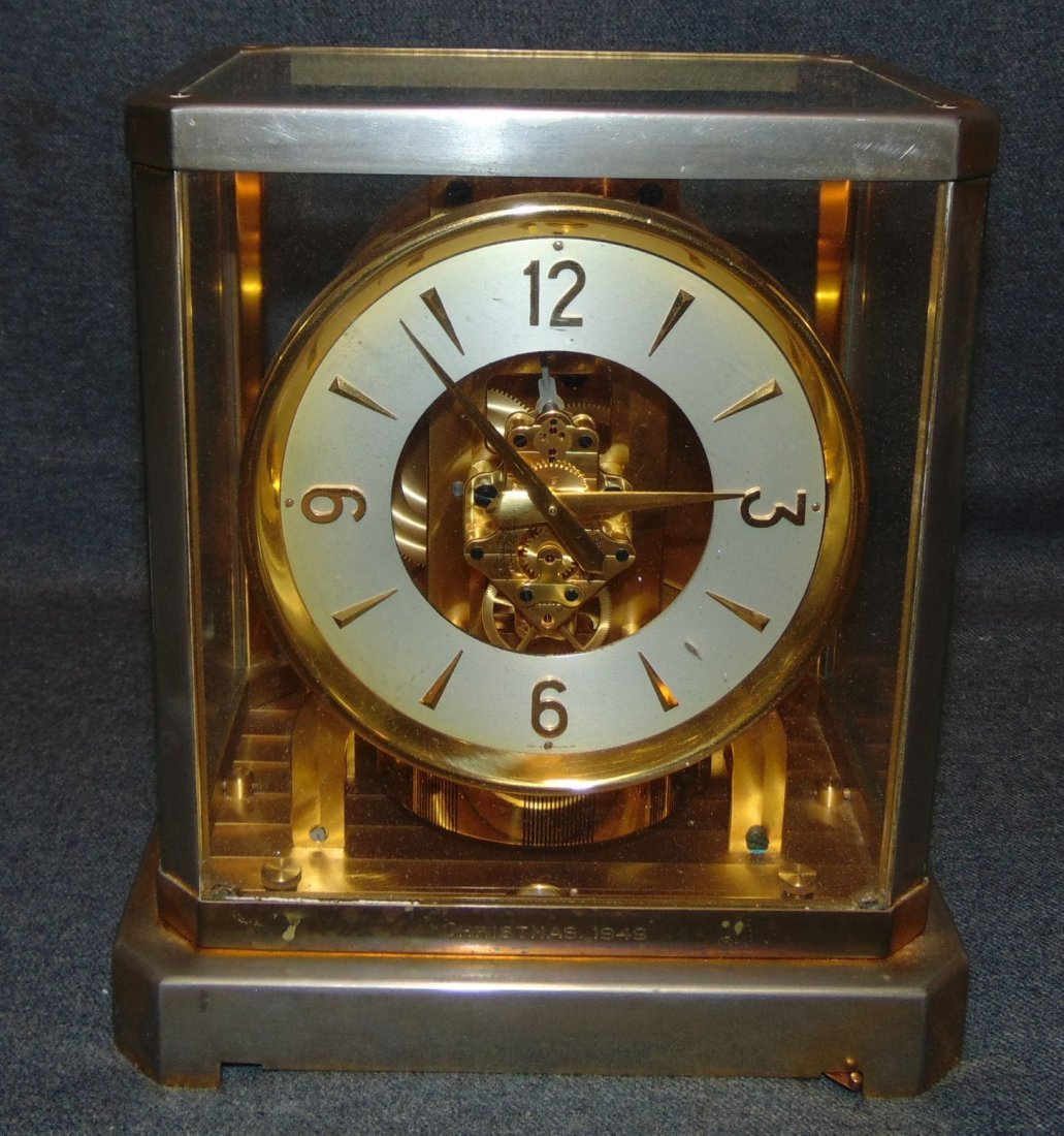 Vintage Jaeger LeCoultre Atmos Clock