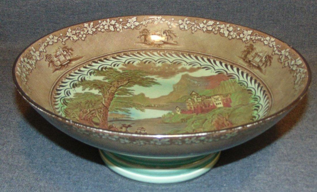 Antique Royal Staffordshire Jenny Lind Bowl