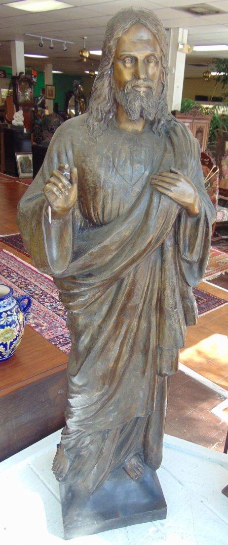 Life size Bronze Jesus Sculpture