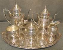 5 Pc. Sterling Silver Tea & Coffee Set 708