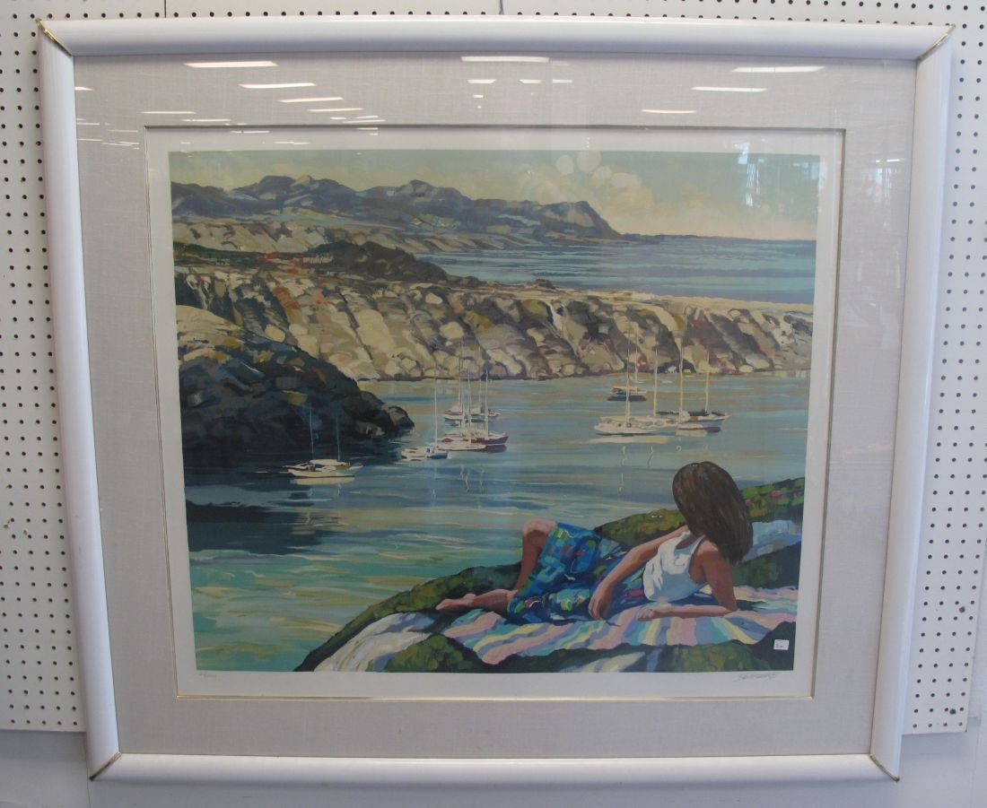 Howard Behrens Signed Serigraph