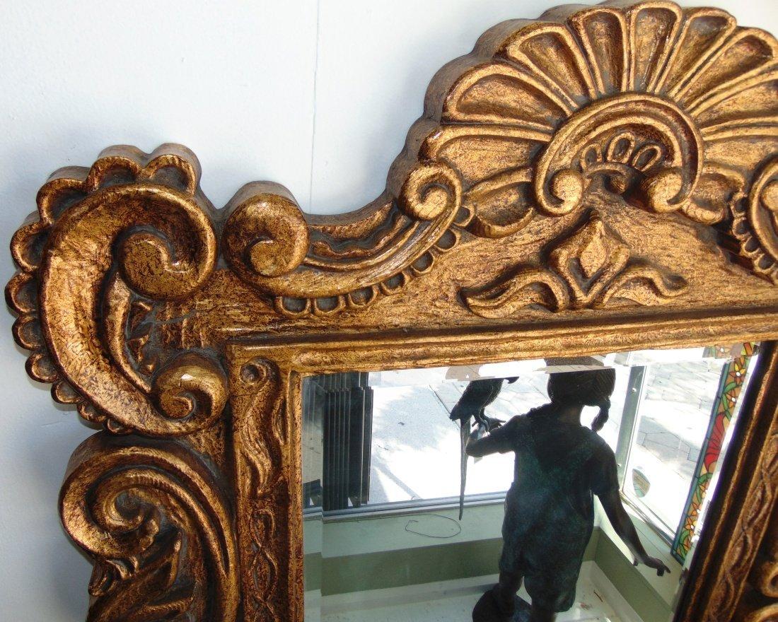 Decorators Gold Beveled Mirror - 2