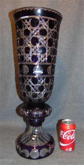 Vintage Amethyst Vases Garnitures For Sale Antique Amethyst