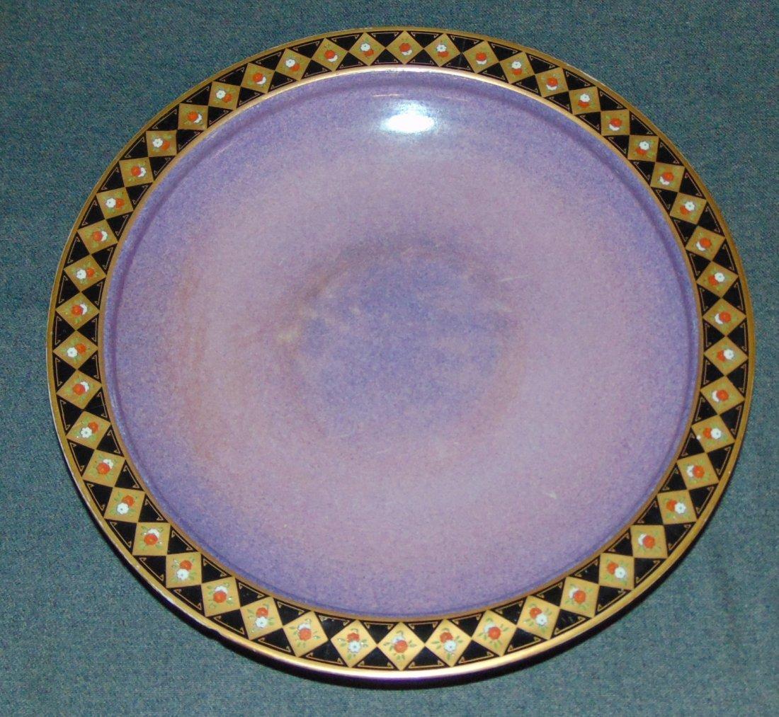 Antique Royal Worcester Porcelain Service Plate Charger