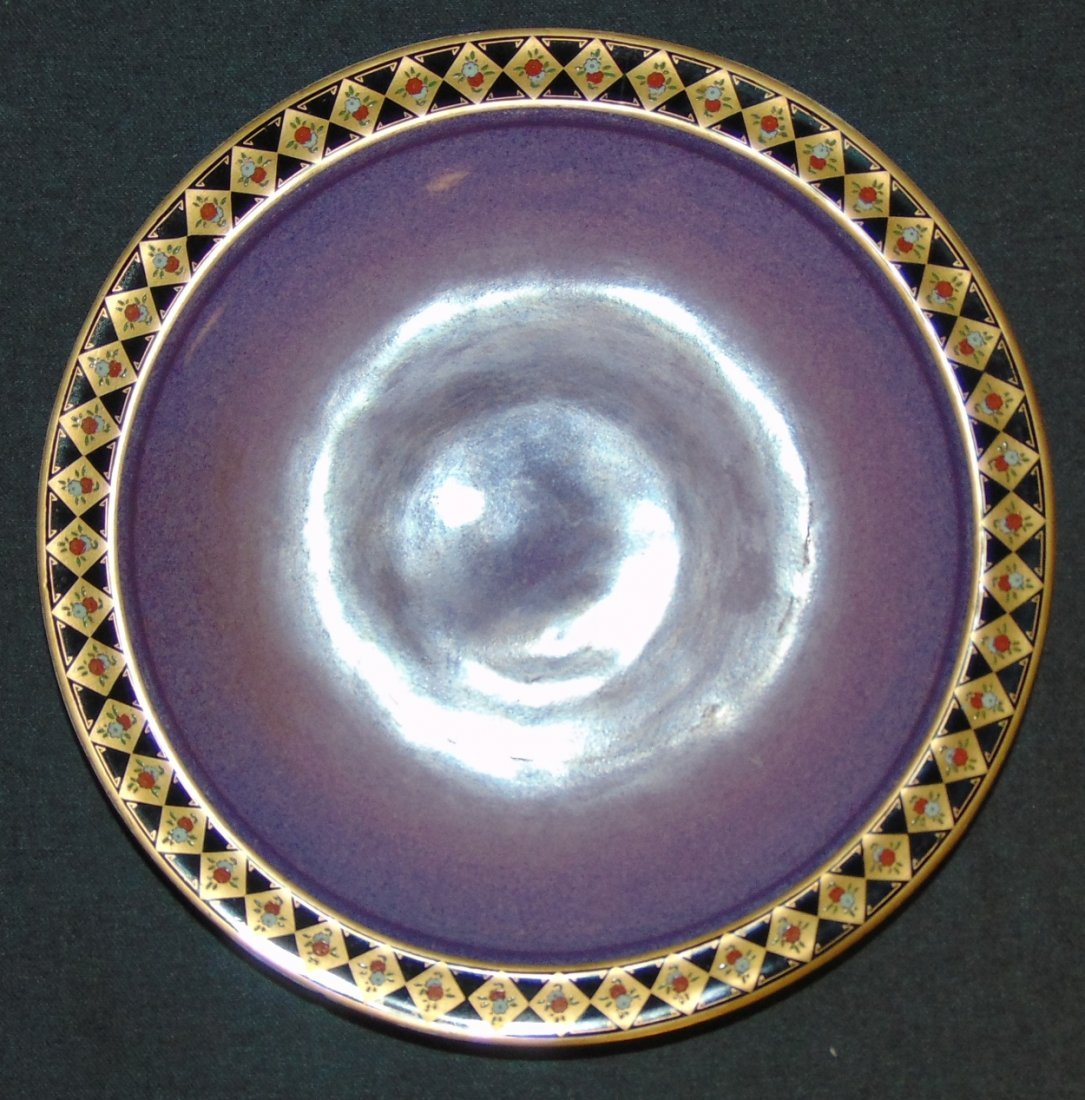 Antique Royal Worcester Porcelain Service Plate Charger - 2
