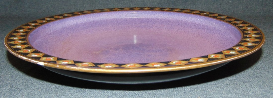Antique Royal Worcester Porcelain Service Plate Charger - 3