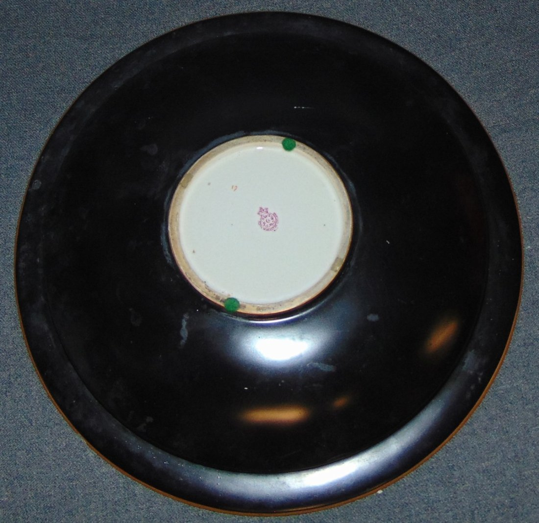 Antique Royal Worcester Porcelain Service Plate Charger - 5