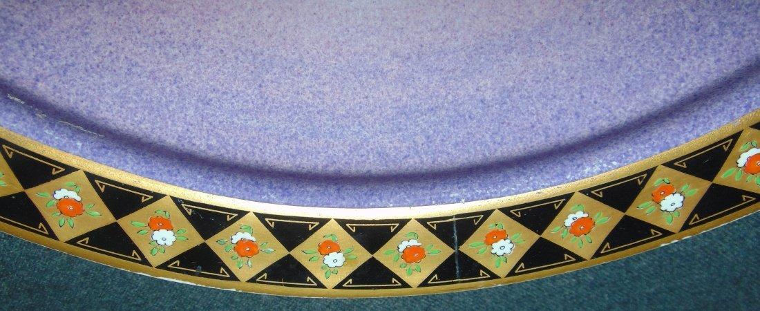 Antique Royal Worcester Porcelain Service Plate Charger - 6