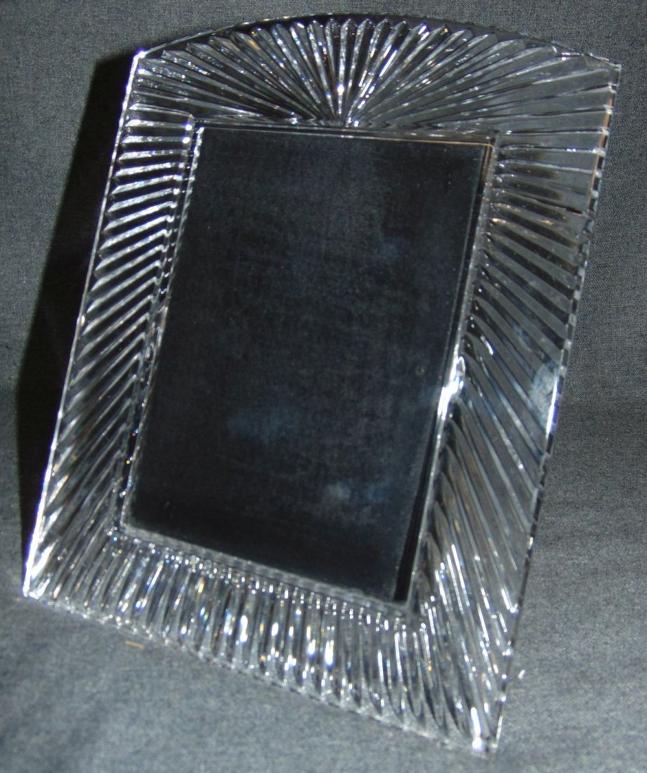 "Waterford Crystal Somerset 5"" x 7"" Picture Frame"