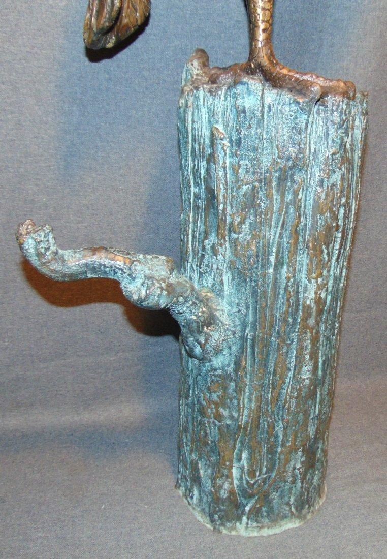 Bronze Pelican Fountain Sculpture - 8