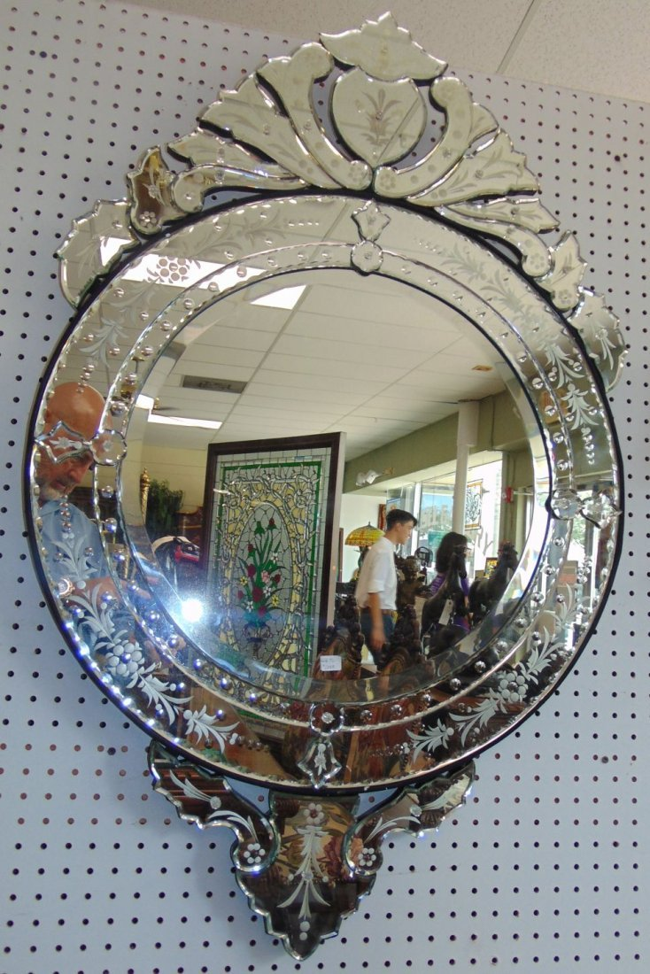 Decorative Venetian Style Wall Mirror