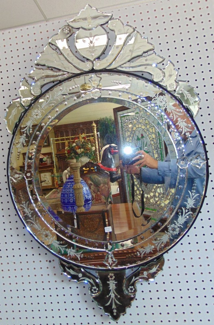 Decorative Venetian Style Wall Mirror - 5