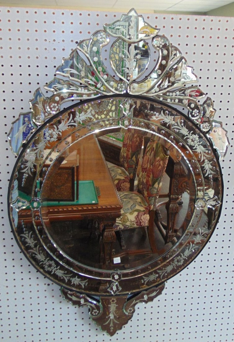 Decorative Venetian Style Wall Mirror - 6