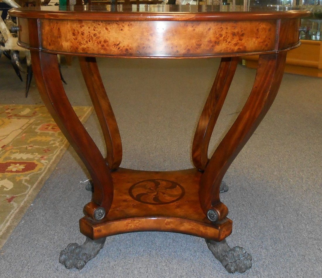Theodore Alexander Marquetry Inlaid Center Table - 2