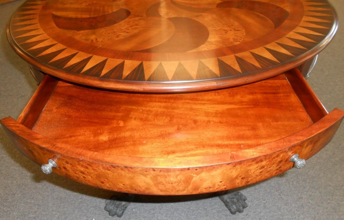 Theodore Alexander Marquetry Inlaid Center Table - 4