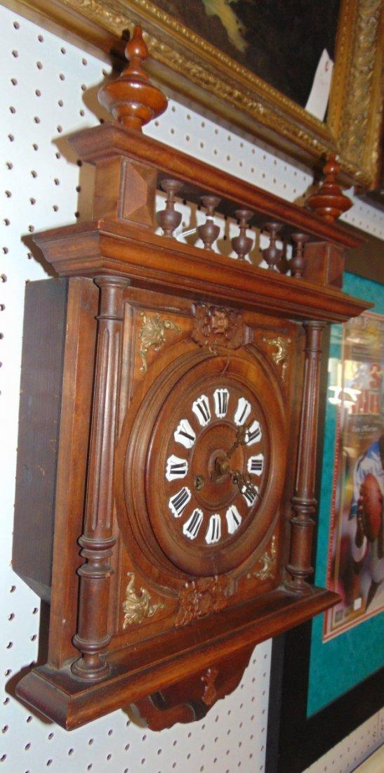 Antique German Wall Clock - 2