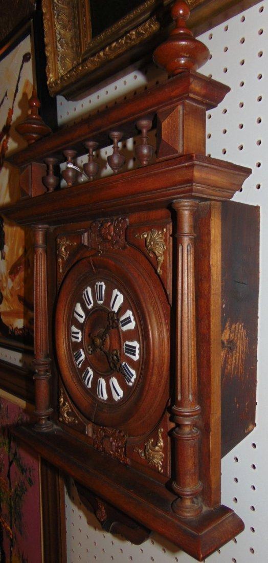 Antique German Wall Clock - 3