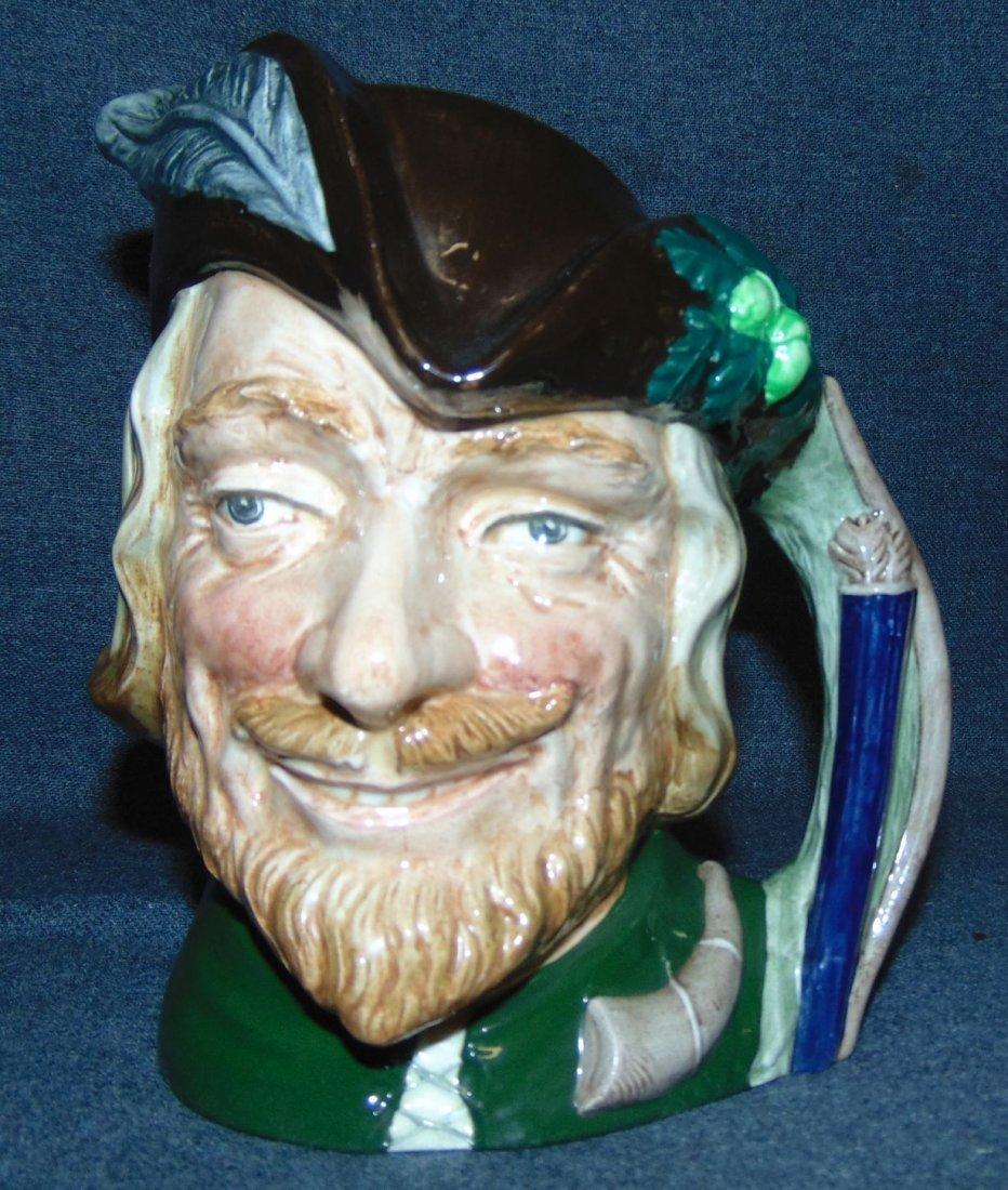 Large Royal Doulton Toby Mug Robin Hood #6527