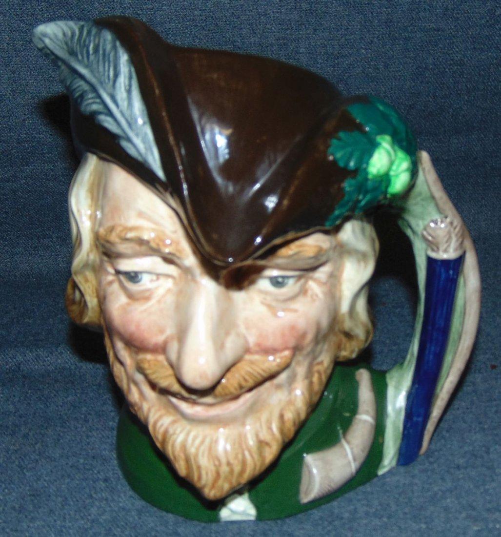Large Royal Doulton Toby Mug Robin Hood #6527 - 2