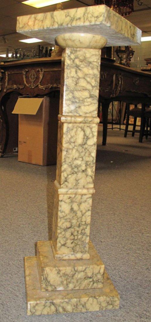 Antique Marble Display Pedestal - 5