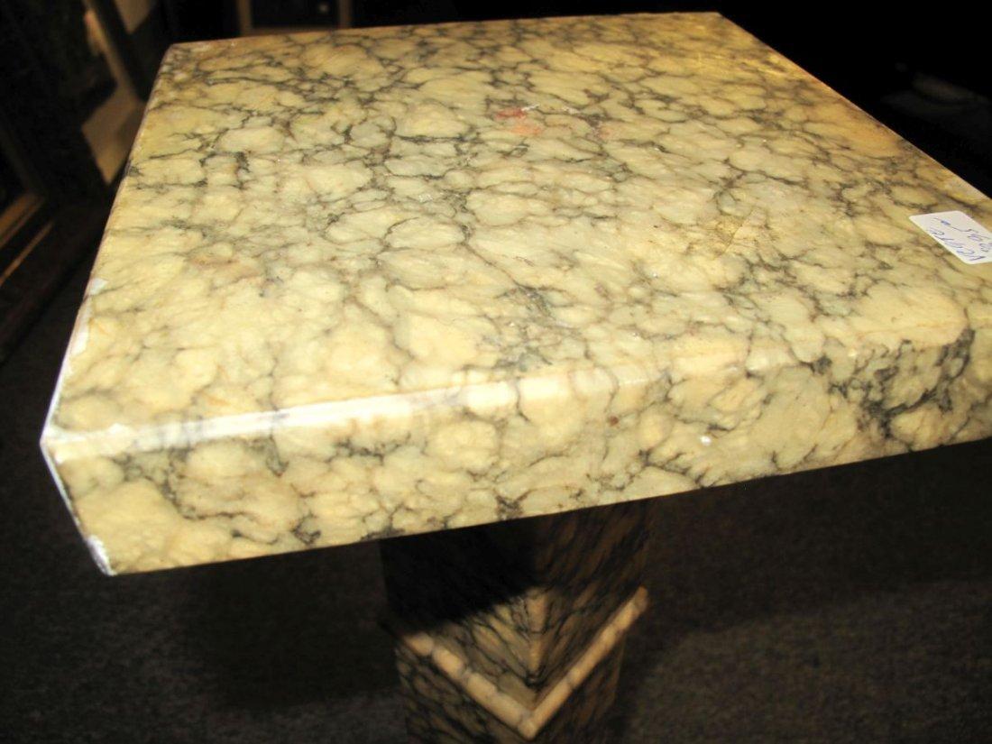 Antique Marble Display Pedestal - 6