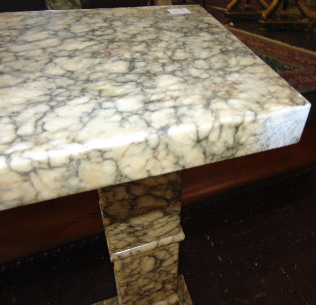 Antique Marble Display Pedestal - 7