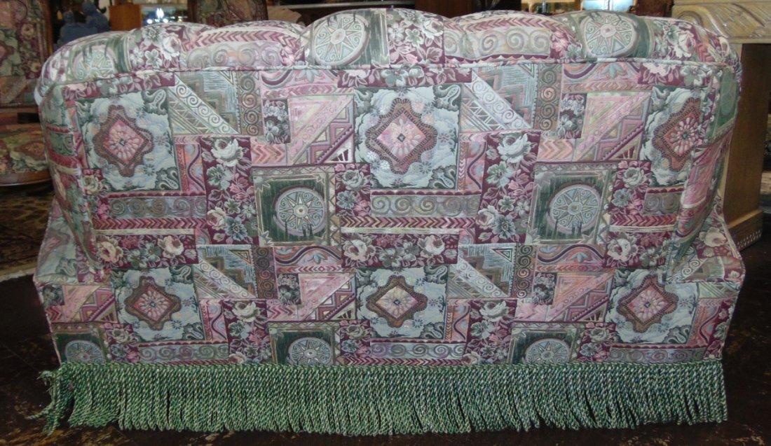 Vintage Art Deco Upholstered Sofa - 4