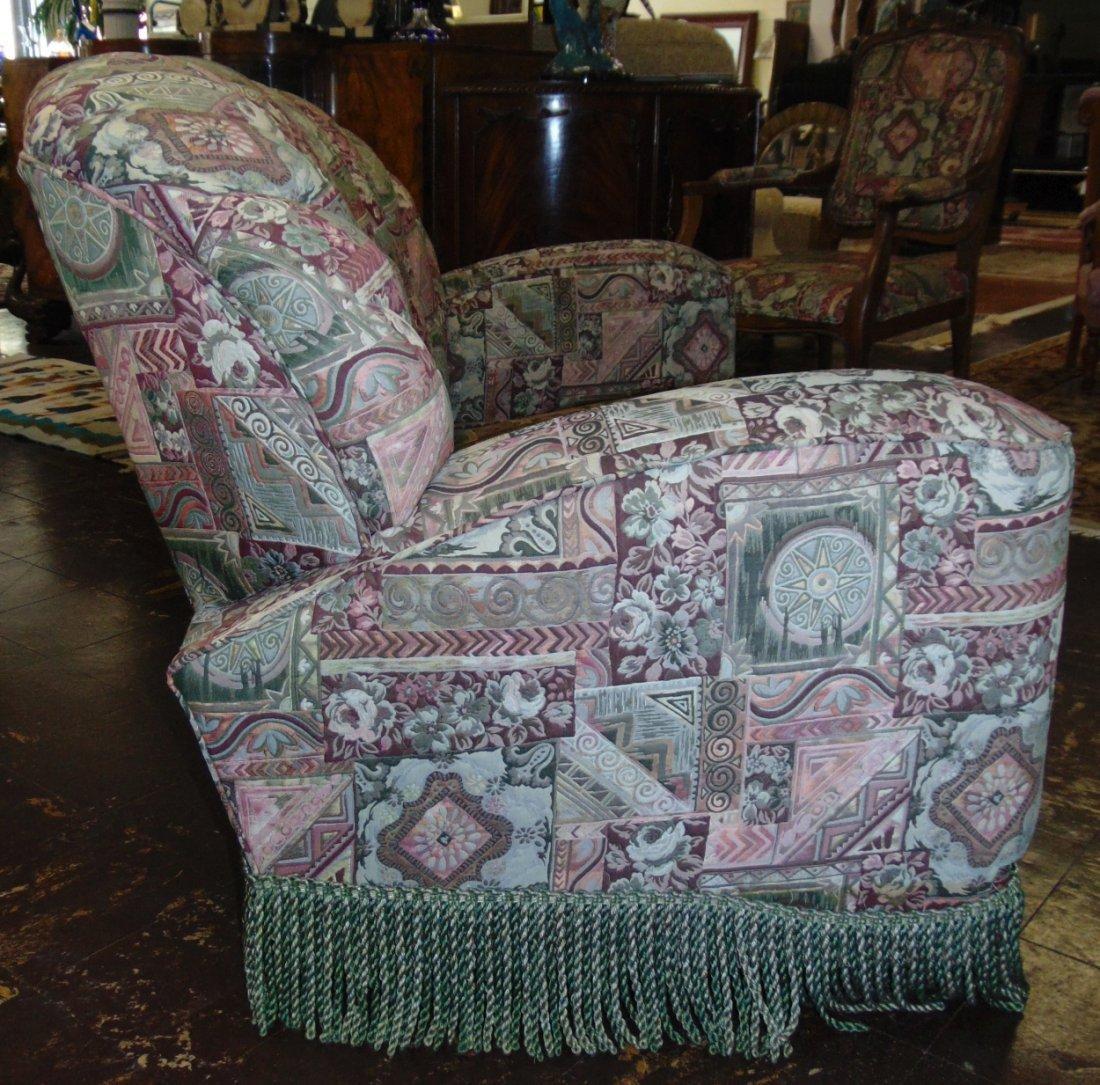 Vintage Art Deco Upholstered Sofa - 5