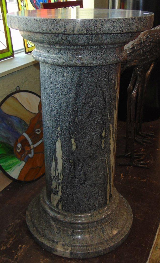 Green Marble Display Pedestal - 2