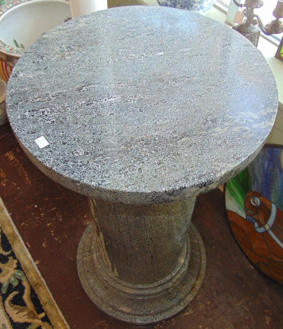 Green Marble Display Pedestal - 8