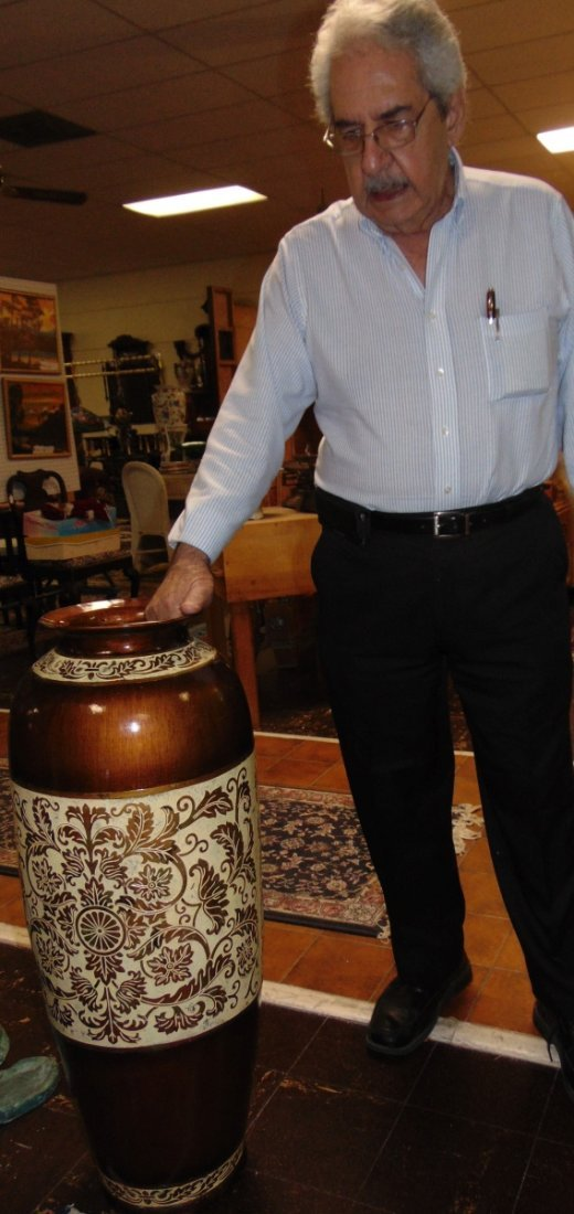 Decorative Porcelain Floor Vase