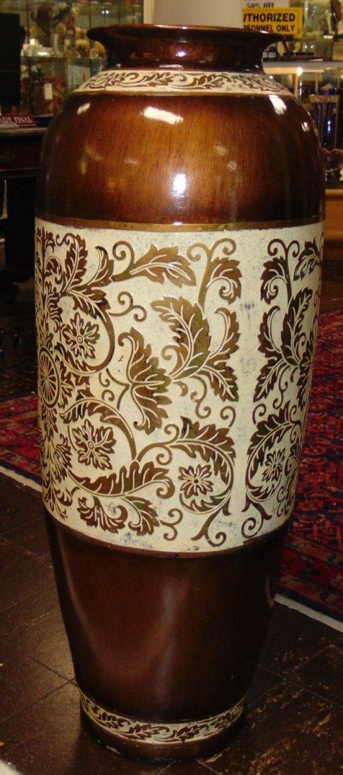 Decorative Porcelain Floor Vase - 2