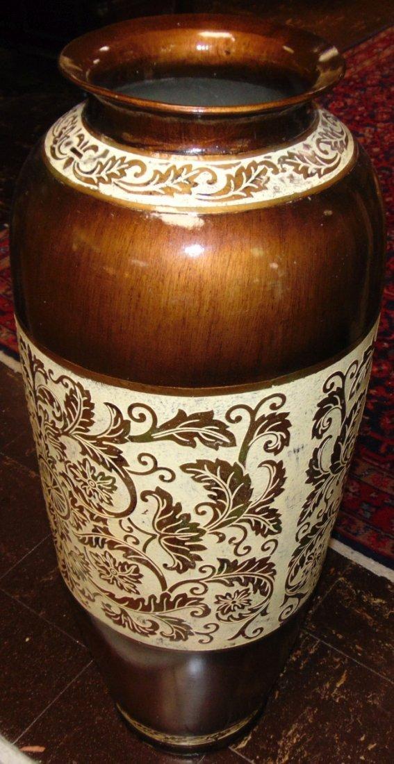 Decorative Porcelain Floor Vase - 3