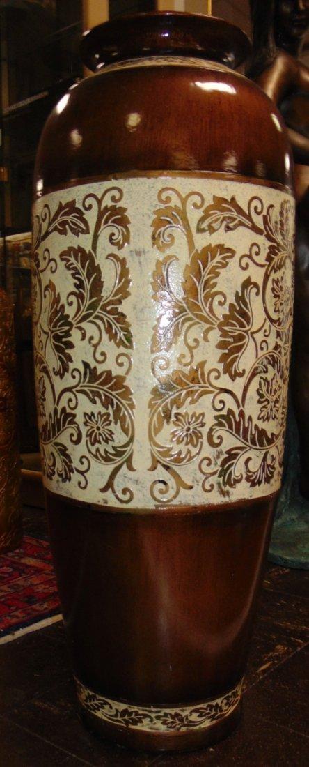 Decorative Porcelain Floor Vase - 4