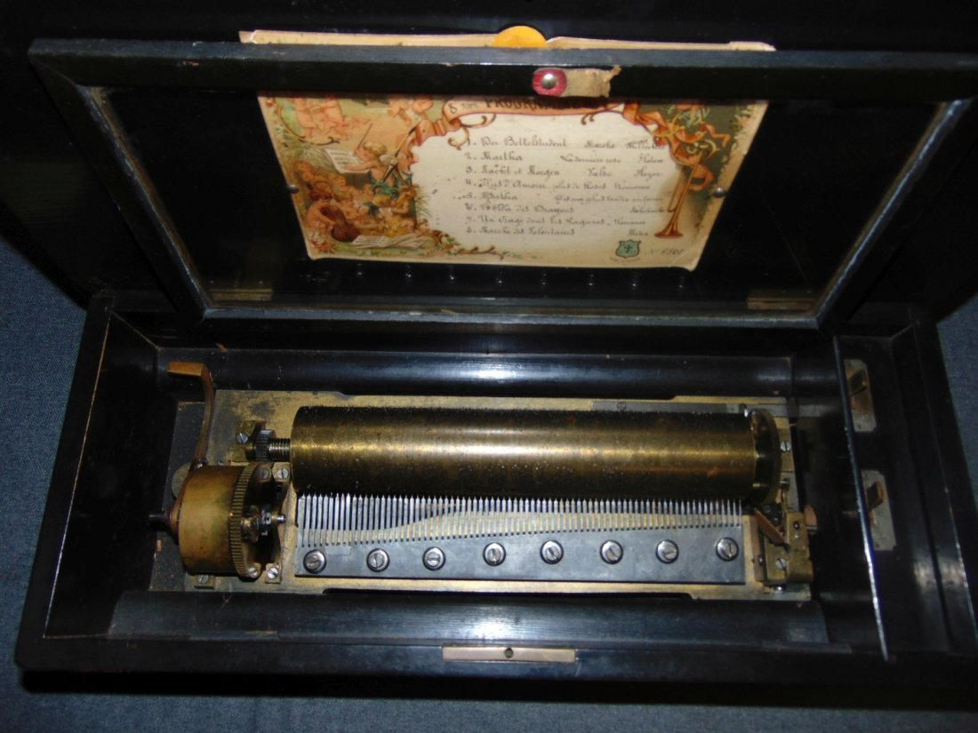 Antique Cylinder Music Box - 3