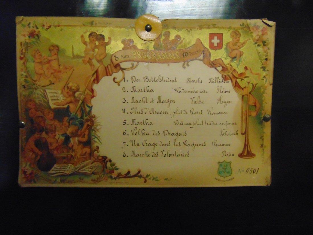Antique Cylinder Music Box - 4