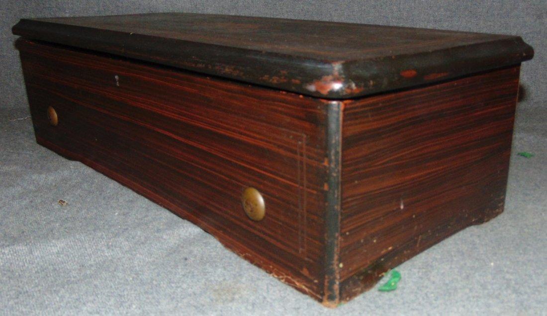 Antique Cylinder Music Box - 8