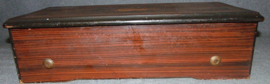 Antique Cylinder Music Box - 9