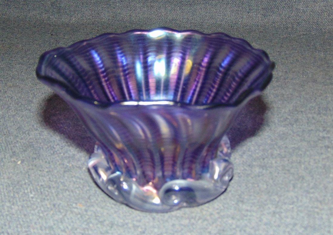 John Gilvey Studio Amethyst Glass Bowl 1994