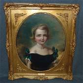 Original Oil Painting After Sir Thomas Lawrence