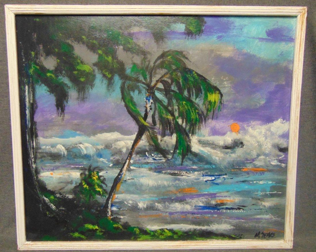 Original Florida Highwayman Painting by Michael Sears