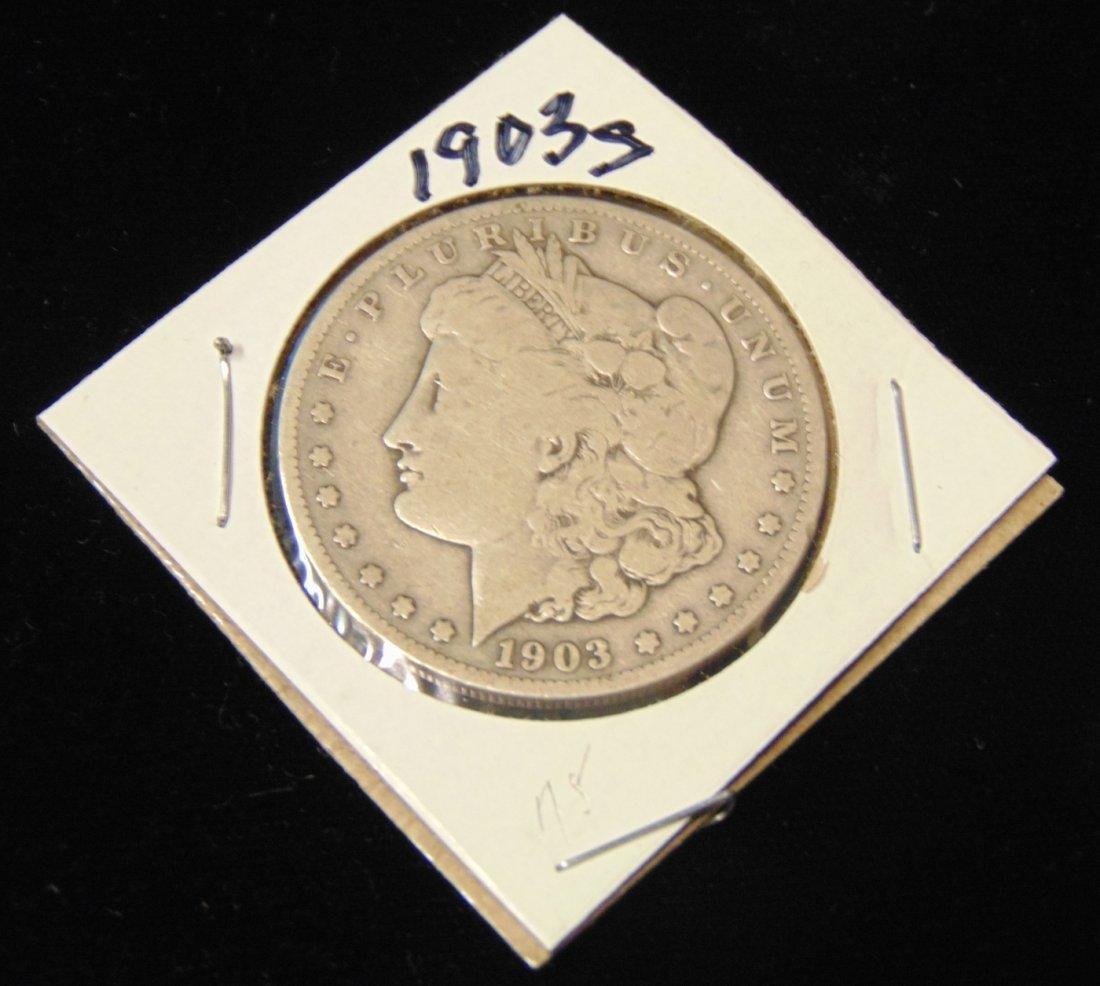 Morgan US Silver Dollar 1903-s