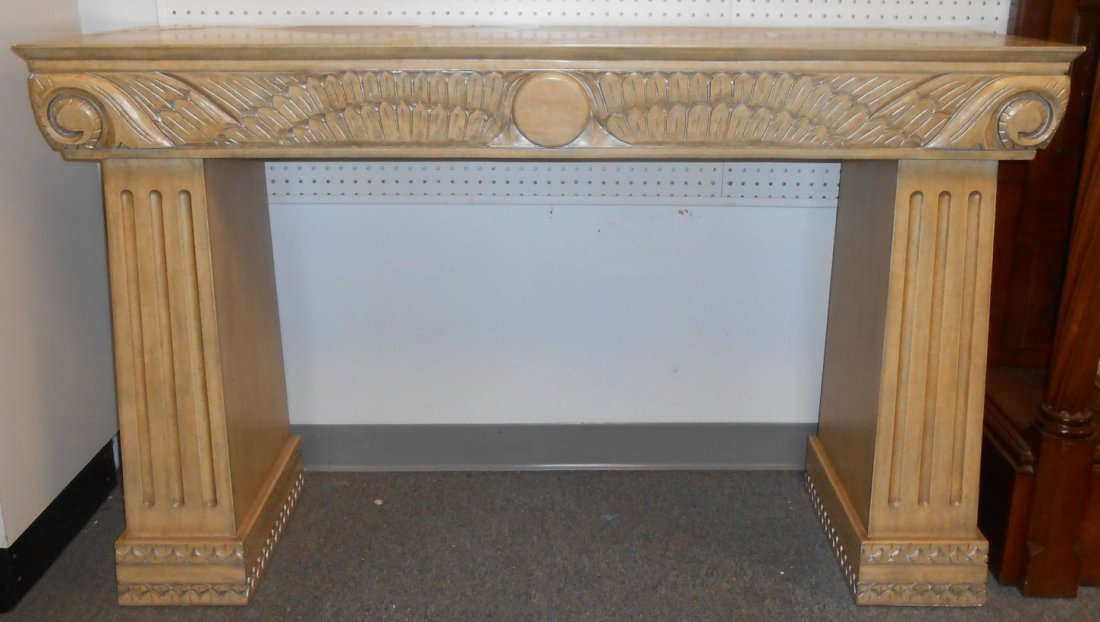 Art Deco Style 2 Sided Console Table
